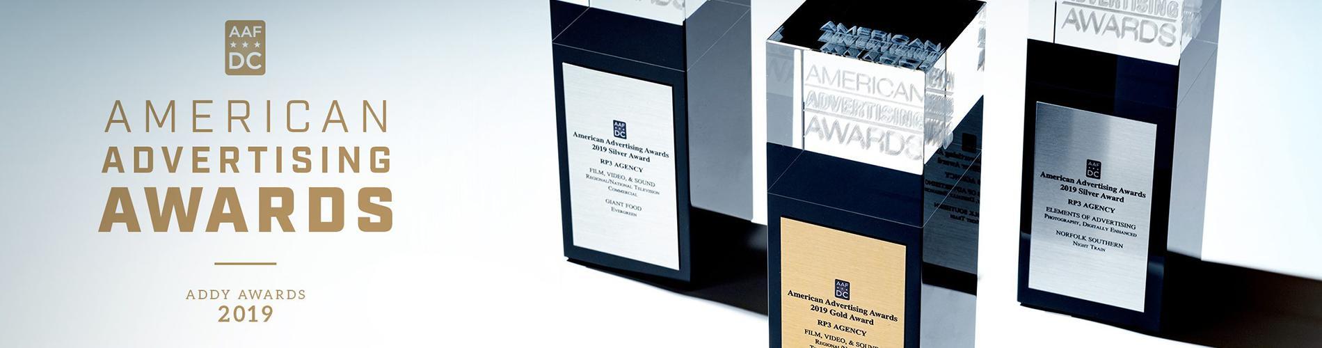 Three Wins at 2019 American Advertising Awards DC