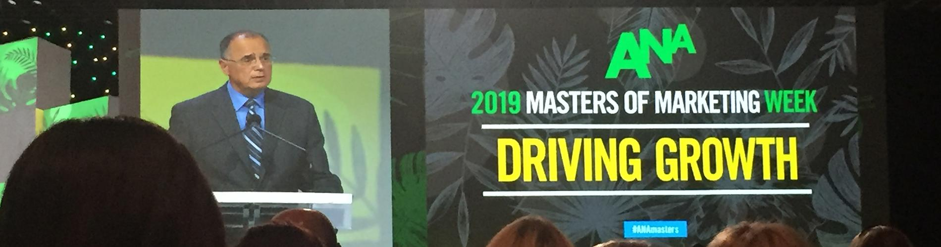 What's on CMOs' Minds; Takeaways from ANA Masters of Marketing
