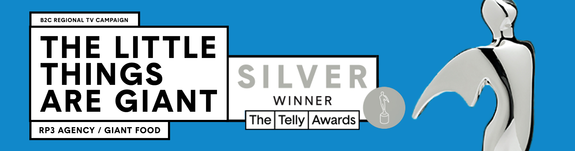 RP3 Selected as a Telly Winner in the 42nd Annual Telly Awards!
